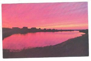 Sunset at Margaree Harbor, Nova Scotia, Canada, 40-60s