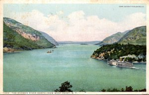 New York Hudson River North From West Point 1914 Detroit Publishing