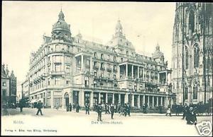 germany, KÖLN, Dom-Hotel (ca. 1899)