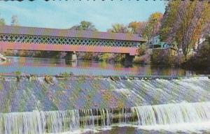 New Hampshire West Swanzey Covered Bridge