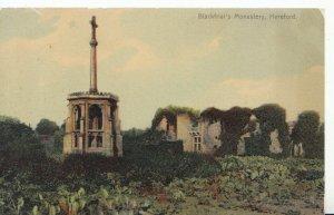 Herefordshire Postcard - Blackfriar's Monastery - Ref 636A