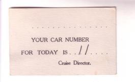SS Coamo 1937 Cruise Puerto Rico Car Card