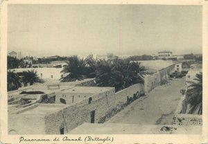 Postcard Eritrea Assab panoramic view