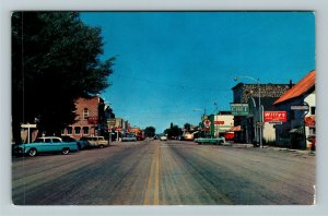 Beaver UT-Utah, Texaco, Motel, Hotel, Cafe, Chrome Postcard