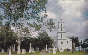 Belfast Church, Cemetery, Belfast, Prince Edward Island, Canada, 1940-1960s