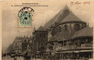CPA PARIS 10e Les Eglises de Paris Ancien Prieure de Saint Martin Cha (254224)
