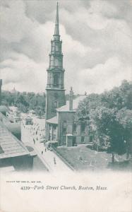Park Street Church, BOSTON, Massachusetts, 00-10´s