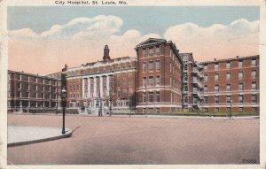 ST. LOUIS, Missouri, PU-1922; City Hospital