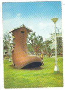 Giant Shoe , Rizal Park, Manila , Philippines , 50-70s