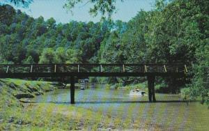 Kentucky Slade Rustic Bridge Natural Bridge State Park