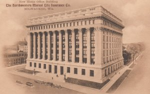 MILWAUKEE , Wisconsin , 1900-10s ; The Northwestern Mutual Life Insurance Com...