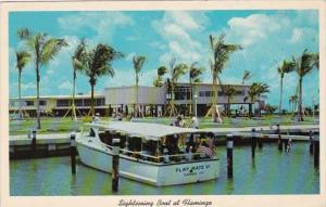 Florida Everglades National Park Sightseeing Boat At Flamingo 1968