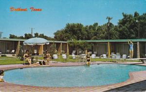 Swimming Pool , Sands Motel & Grill , DALHART , Texas , 50-60s