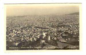 Vista des d'el Tibidabo, Vista desde el Tibidabo, Barcelona, Spain, 10-30