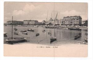 GENEVE, Switzerland, 1900-1910's; Le Port
