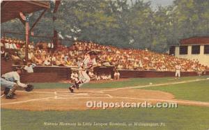 Historic Moments in Little League Baseball Williamsport, Pennsylvania, PA, US...