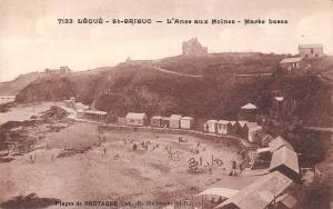 France Plages de Bretagne, Legue - St-Brieuc - L'Anse aux Moines - Maree basse