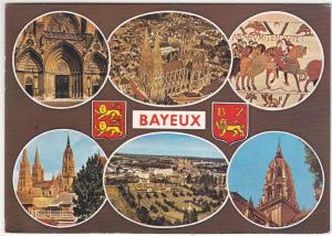 Postcard France Bayeux 6 views