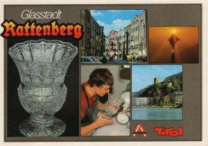 Glasstadt Rattenberg Tirol Austria Postcard