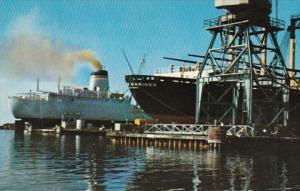 Mississippi Pascagoula Harbor Ships In For Repair
