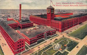 Sears, Roebuck & Co., Chicago, Illinois, Early Postcard, Used in 1914