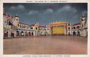 Illinois Chicago Aragon Ballroom Of A Thousand Delights Lawrence Avenue Near ...