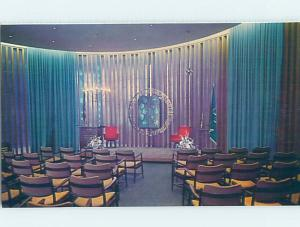 1980's JEWISH CHAPEL AT AIR FORCE USAF ACADEMY Colorado Springs CO G2993