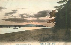 C-1910 Sunset Sumanoura Kobe Japan postcard 11110