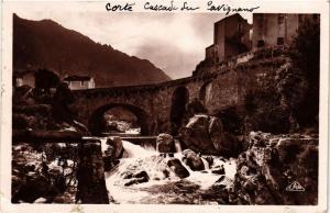 CPA CORSE Corte- Cascade du Tavignano. (711532)