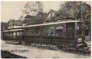 Trolley #2000, Forest Belt, St Louis Mo