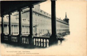 CPA Espagne MONASTERIO DEL ESCORIAL - Galeria de Convalecientes (303947)