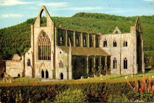 Wales Monmouthshire Tintern Abbey