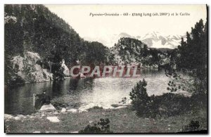 Old Postcard Long Pond and Carlite
