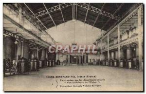 Old Postcard Parfurmerie Perfume Roure Bertrand Fils L & # 39extraction by vo...