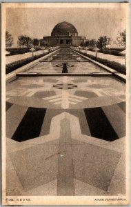 1933 CHICAGO WORLD'S FAIR Expo Postcard ADLER PLANETARIUM Building View
