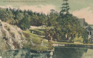 Pool in Rockwood Park near Bear Den - St John NB New Brunswick, Canada - pm 1907