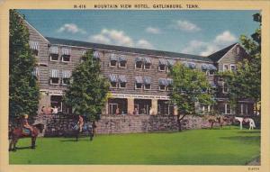Mountain View Hotel Gathlinburg Tennessee 1943