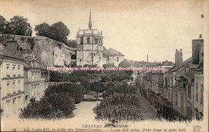 Chateau d & # 39Amboise - Louis XII Wing Hall of four bays - Louis XII wing -...