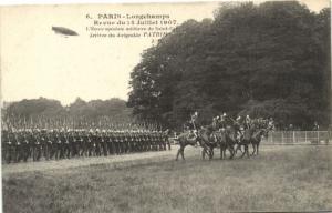 CPA Paris 16e (Dep. 75)  Longchamp (57232)
