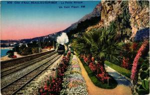 CPA Cote d'Azur , BEAULIEU-sur-MER - La Petite Afrique (351197)