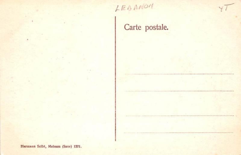 Baalbek, Lebanon Postcard, Carte Postale Colonnes cannelees du Petit Temple B...