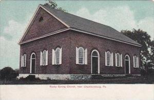 Pennsylvania Chambersburg Rocky Spring Church