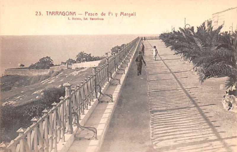 Paseo de Pi y Margall Tarragona Spain Unused