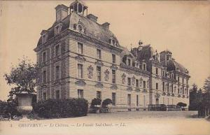 CHEVERNY, Le Chateau, La Facade Sud-Ouest, Loir et Cher,  France, 00-10s