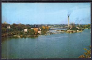 Memorial Bridge Crossing Fox River,Appleton,WI