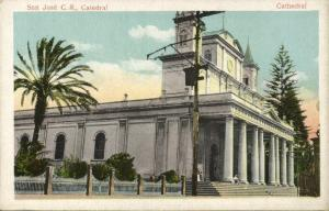 costa rica, SAN JOSÉ, Catedral, Cathedral (1910s) Sauter & Co.