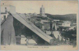 80336  -  TUNISIA  - VINTAGE POSTCARD   -   TEBOURSOUK