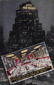 Hotel New Yorker, New York, N.Y., Early Postcard, unused