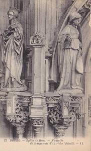 Eglise De Brou, Mausolee De Marguerite d'Autriche (Detail), Bourg, France, 19...