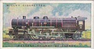 Wills Cigarette Card Railway Engines No 35 Western Railway Of France